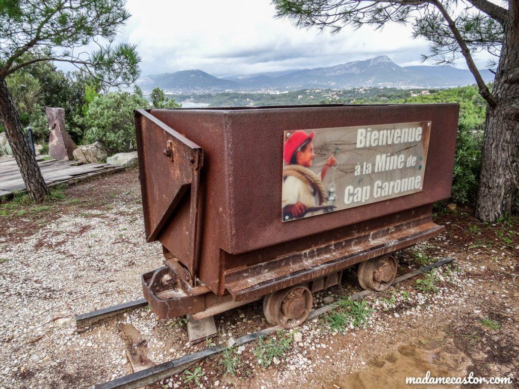 Chariot mine Cap Garonne