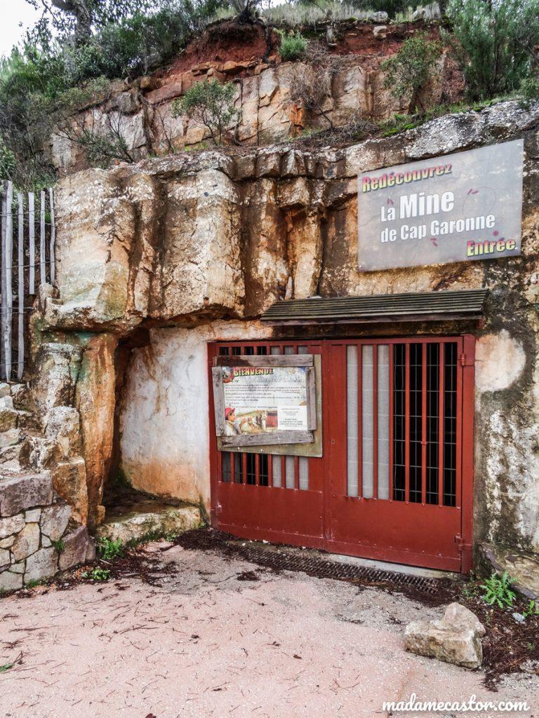Entrée mine Cap Garonne