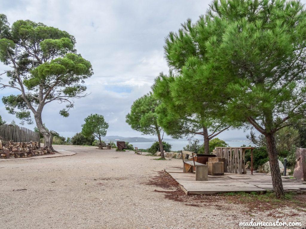 Esplanade mine Cap Garonne