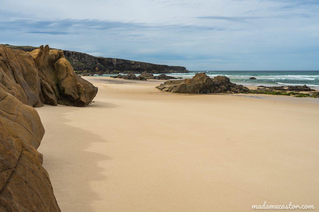 plage de malhao-roches