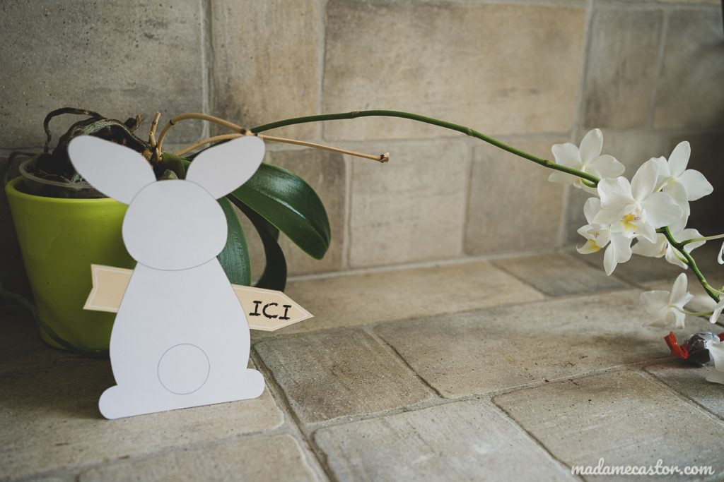 pancarte lapin a imprimer paques